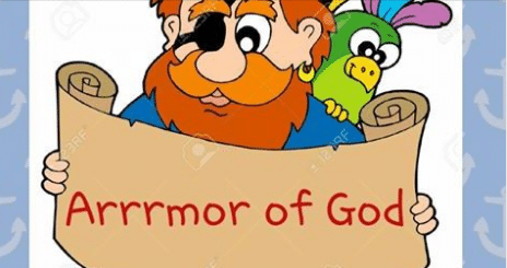 2016 Vacation Bible School: Arrrmor of God
